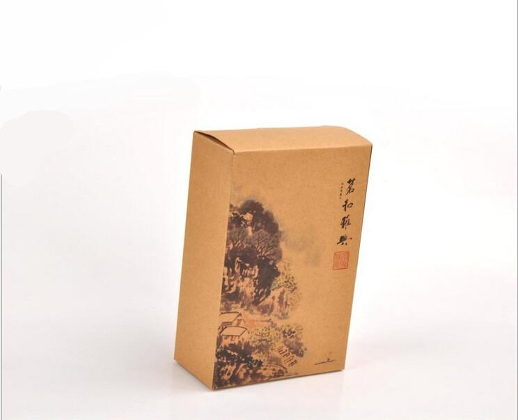 牛皮纸包装盒定制