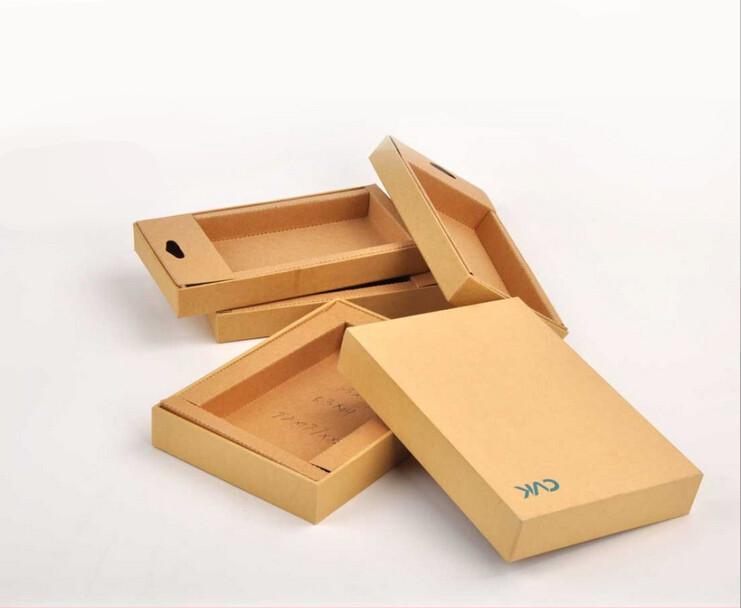 牛皮纸包装盒定做
