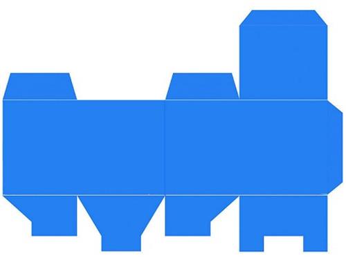 如何用ps做一个包装盒的展开图?图片