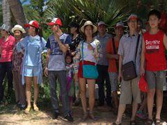 明美惠州海外沙滩旅游照