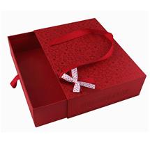 红色礼品盒定制
