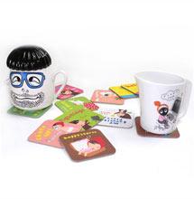 茶垫标签印刷