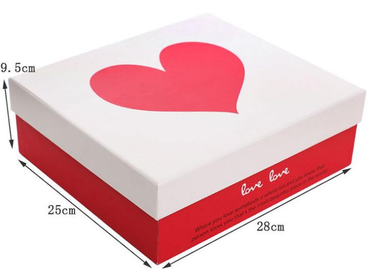 爱心包装盒