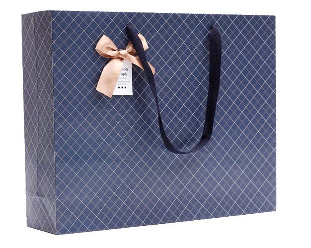 蝴蝶结礼品袋定制