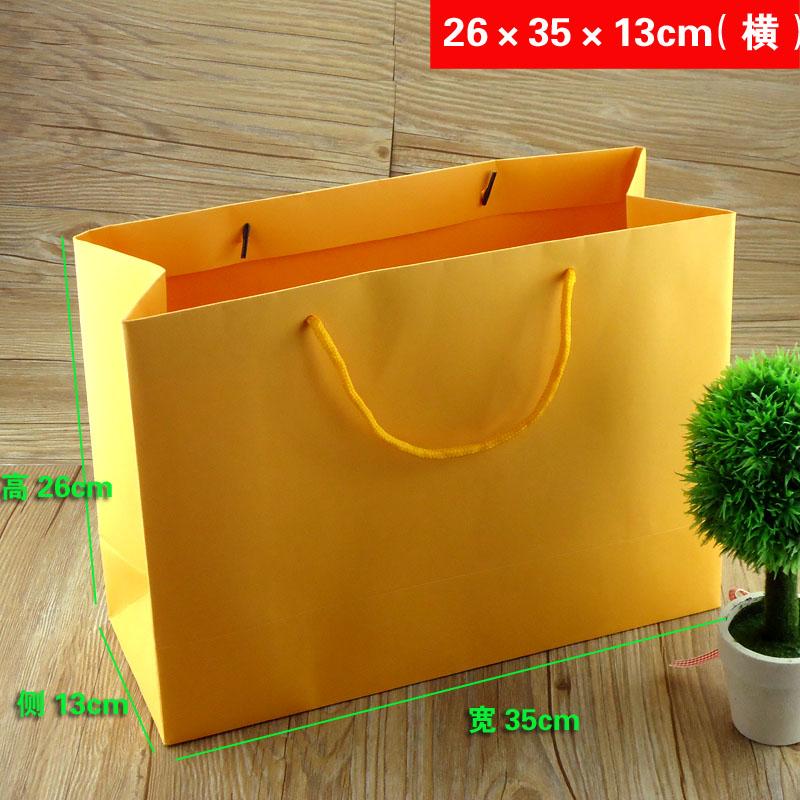 黄色手提袋制作