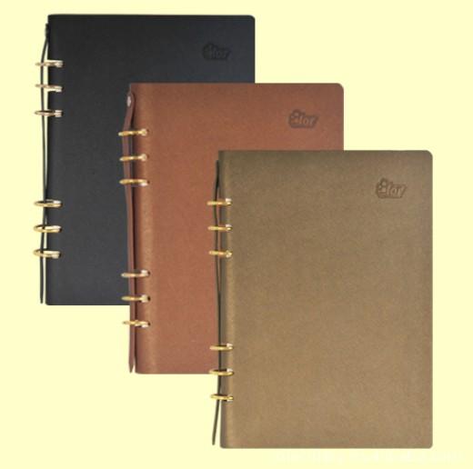 高档线圈笔记本印刷